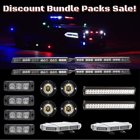 Discount Bundles LED Mini Light Bars Surface Mounts and Off Road Sale