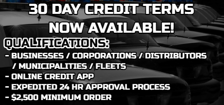 SpeedTech Lights 30 Day Credit Application
