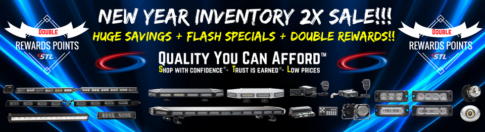 New Year Inventory Blowout Flash Sale LED Light Bar Sale Grille Lights Hideaways and Mini Light Bar Sale