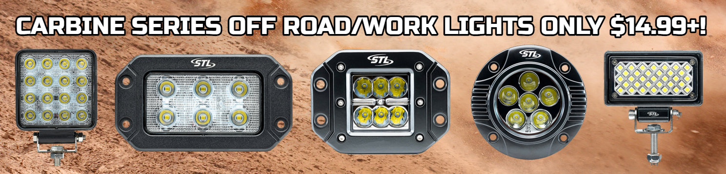 LED Light Bars, Off Road LED Lights, Off Road Lights, Off Road Light Bars, LED Work Lights
