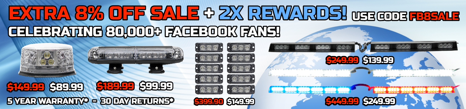 Facebook Sale Full Size LED Light Bars Mini Light Bars Worklights Off Road Light Bars LED Grille Light Sale