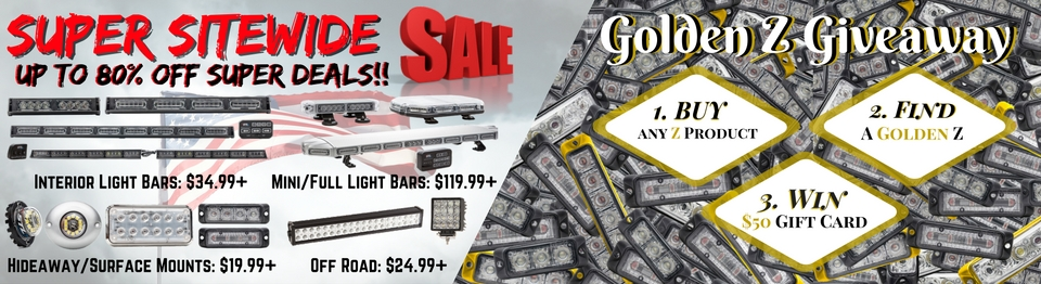 LED Full Light Bar Sale LED Grille Lights Mini Light Bars Dash Lights LED Beacon Siren Speaker and Hideaway Sale