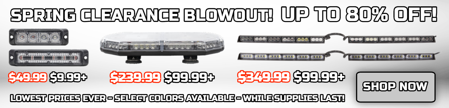 LED warning lights Sale LED light bars sale Mini Light Bars Sale