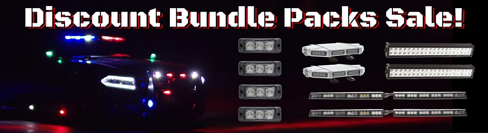 Discount Bundles LED Min Light Bars Surface Mounts and Off Road Sale