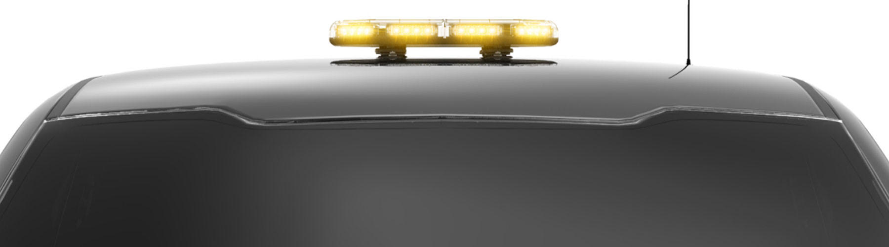 LED Mini Light Bar, LED Warning Light Bar, Magnetic Mini Bar for Emergency Vehicles