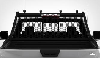 4 Pack Quad Carbine Square LED Off Road Light Rack