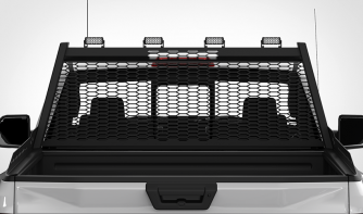 Dual Carbine 8 Inch LED Light Bar Off Road Floodlight rack