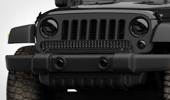 Dual Carbine 30 Inch LED Light Bar Off Road Floodlight Jeep
