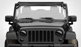 Floodlight Quad Carbine 16 Square LED Off Road Work Light Jeep