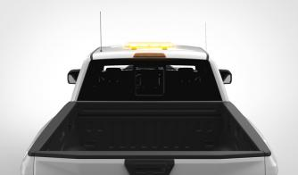 K-Force Micro 21 TIT LED Mini Warning Light Bar On