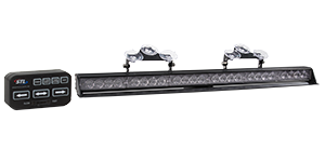 Striker-6 TIR LED Traffic Advisor Light Bar 6 Head