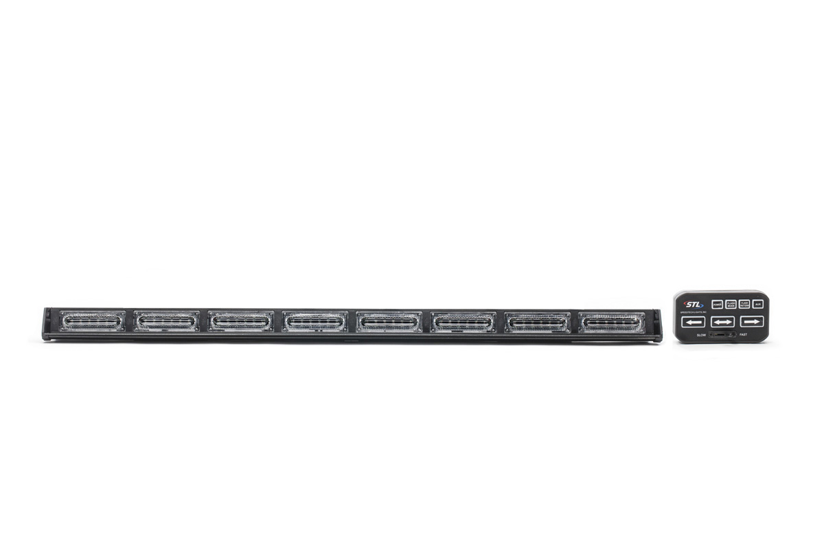 Virtue-8 Linear 8 Head LED Traffic Advisor Light Bar