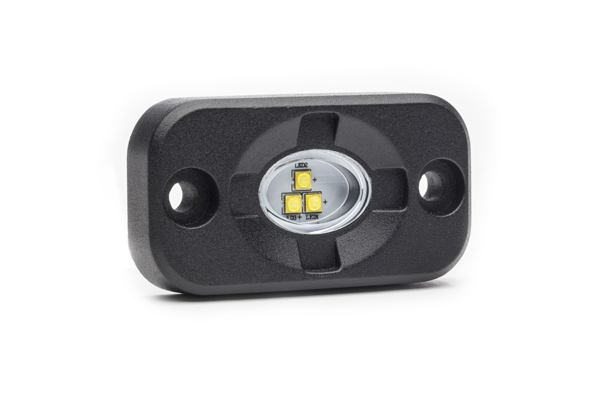 Surface Mount Led Lamp : Micro carbine off road led surface mount w stl