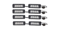 4 Pack Striker TIR LED Grille Lights