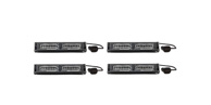 4 Pack Virtue-2 Linear 2 Head LED Dash Light