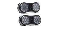 2 Pack Arc TIR LED Visor Light