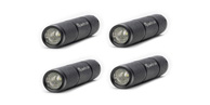4 Pack Mini-Beam CREE LED Flashlight