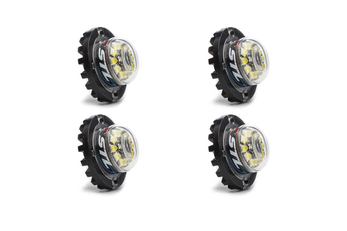 4 Pack Flare 12 LED Hideaway Surface Mount Light