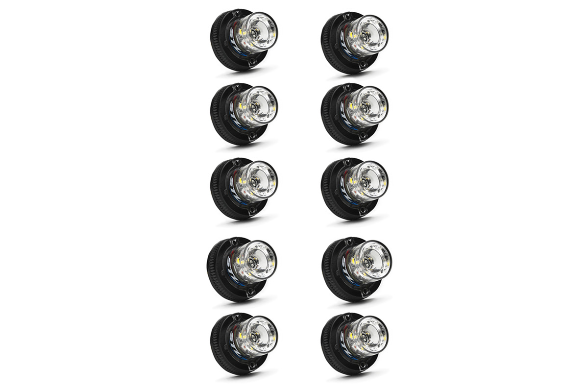 10 Pack Flare 6 LED Hideaway Surface Mount Light