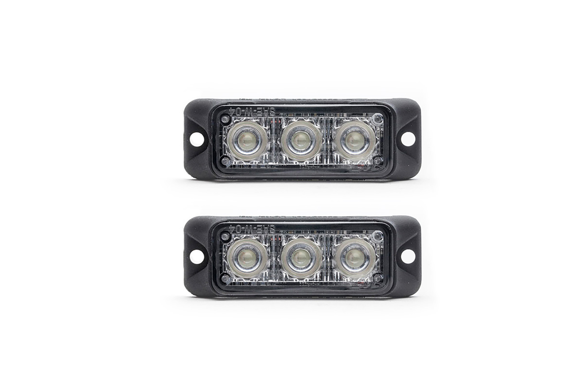Z-3 TIR LED Surface Mount Grille Lights 2 Pack