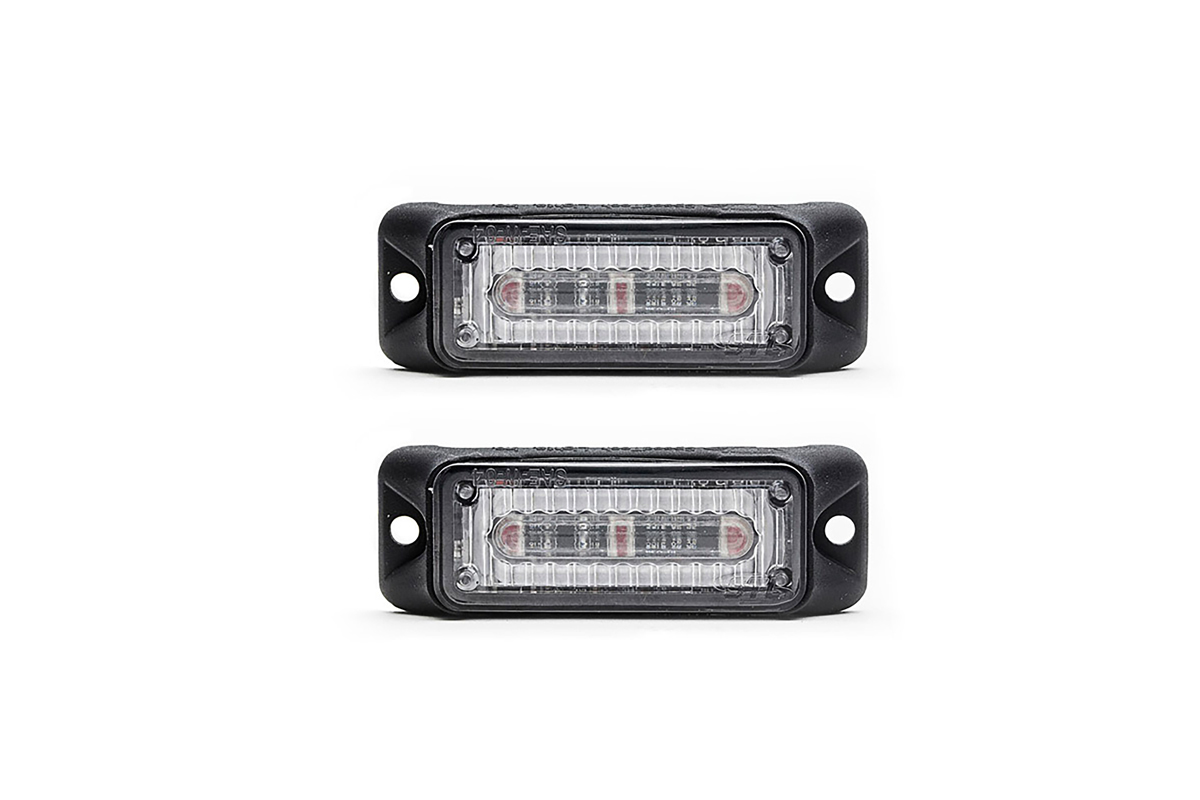 Z-3 Linear LED Surface Mount Grille Lights 2 Pack