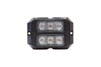 Dual Z-3X TIR LED Surface Mount Grille Lights