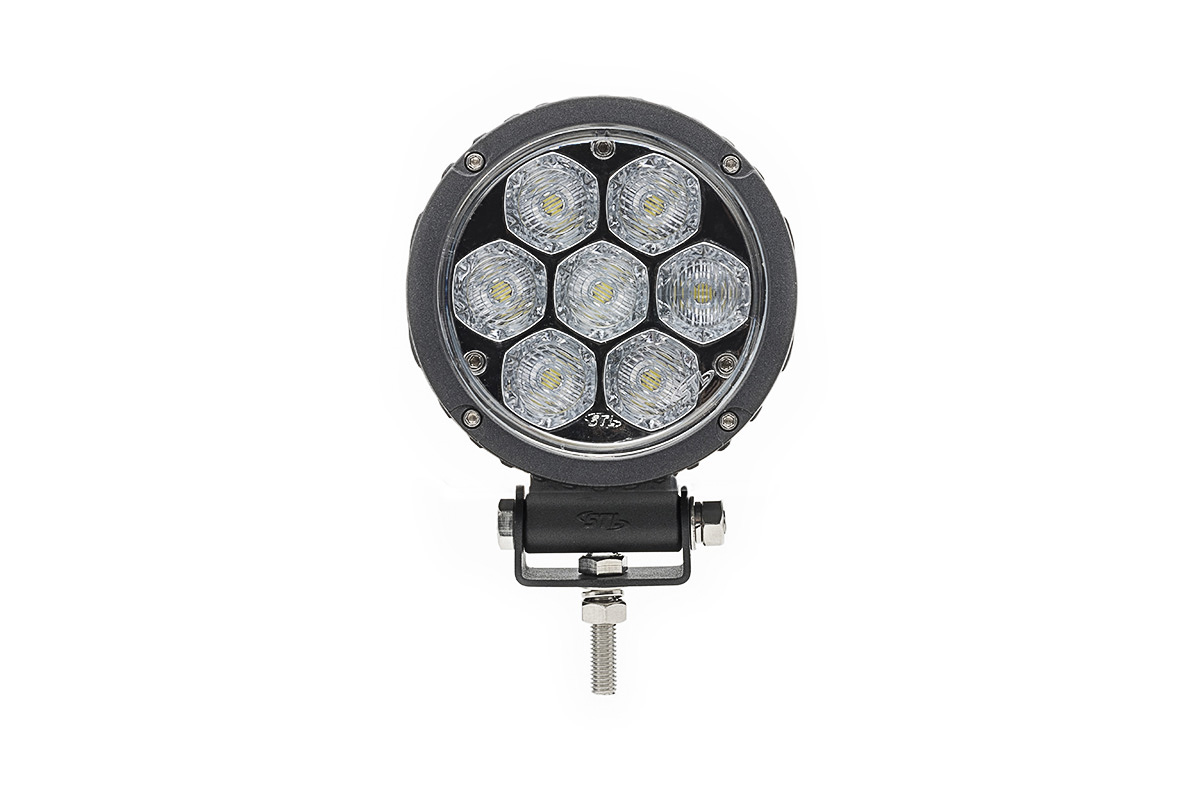 Circle Carbine Floodlight Round 4 Inch Off Road LED Light