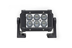 Dual Carbine Floodlight 5 Inch Off Road LED Light Bar