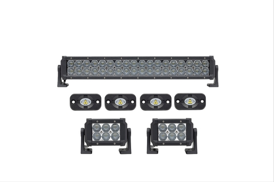 4 pack dual carbine 11 off road led lightbar w dc11p4 stl. Black Bedroom Furniture Sets. Home Design Ideas