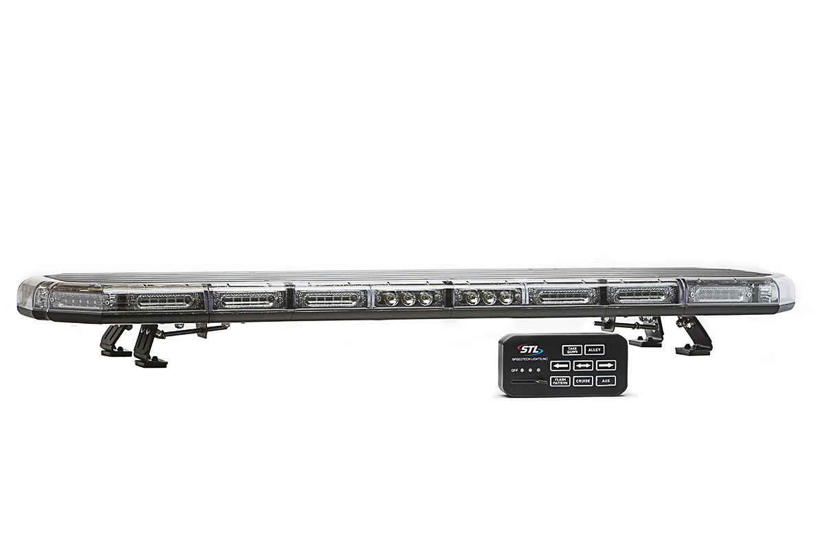 Police lights led light bars on sale stl k force 47 linear full size led light bar aloadofball Gallery