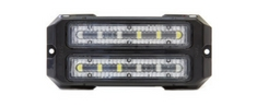 Dual Z-6X Linear LED Surface Mount Grille Lights