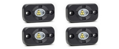 Micro Carbine LED Off-Road Surface Mount Lights 4 Pack