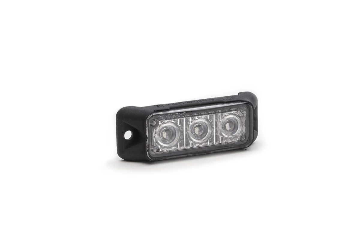 Z-3 TIR LED Surface Mount Grille Light Angle View