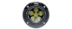 Circle Carbine Flush Mount Round 5 Inch Off Road LED Spotlight