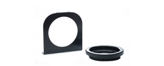 Black Coated Steel Mounting Bracket With PVC Black Grommet​ Truck-Trailer