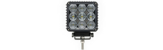 Quad Carbine Hybrid Off Road Square LED Work Light Bar