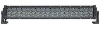 Dual Carbine Floodlight Off Road 20 Inch LED Light Bar