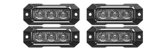 Z-3 TIR LED Surface Mount Grille Lights 4 Pack