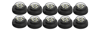 10 Pack Flare 12 LED Hideaway Surface Mount Light