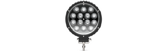 Circle Carbine Floodlight Round 6 Inch Off Road LED Light