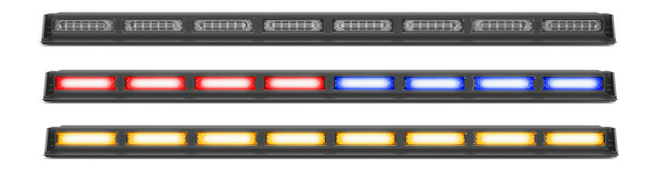Virtue-8 Linear MultiColor 8 Head LED Traffic Advisor Light Bar