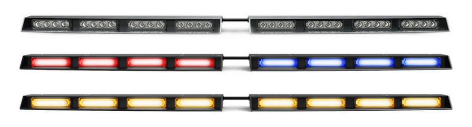 Raptor TIR Rear Windshield Split LED Traffic Advisor