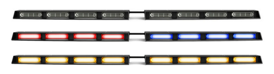 Raptor Linear Rear Windshield Split LED Traffic Advisor