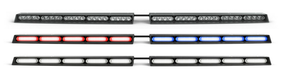 Super Take Down Split Raptor TIR Interior LED Visor Light Bar