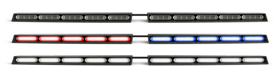 Super Take Down Split Raptor Linear LED Lightbar Windshield