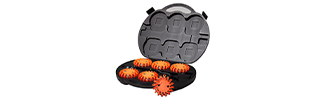 6 Pack 16 LED Rechargeable Red Disc Roadside Flare