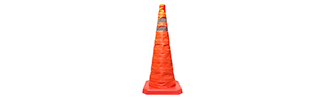 28 Inch Collapsible Traffic Cone