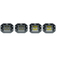 4 Pack Cube Carbine Flush Mount Cube 5 Inch Off Road LED Floodlight