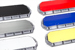 K-Force Micro 60 TIR Slim Full Size Tow LED Light Bar Colored Top Covers