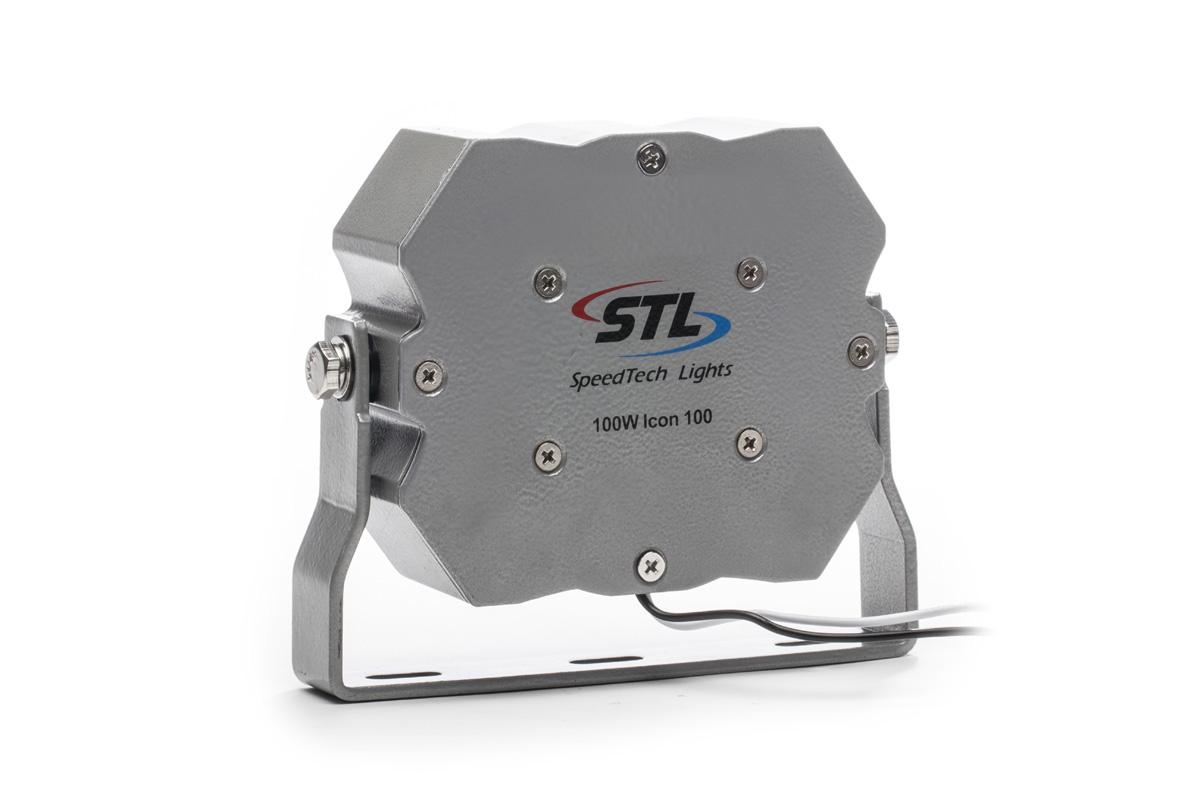 4 Pack Icon 100 Watt Speaker A Ic100 Speedtech Lights Police Siren Vehicle Silver Back